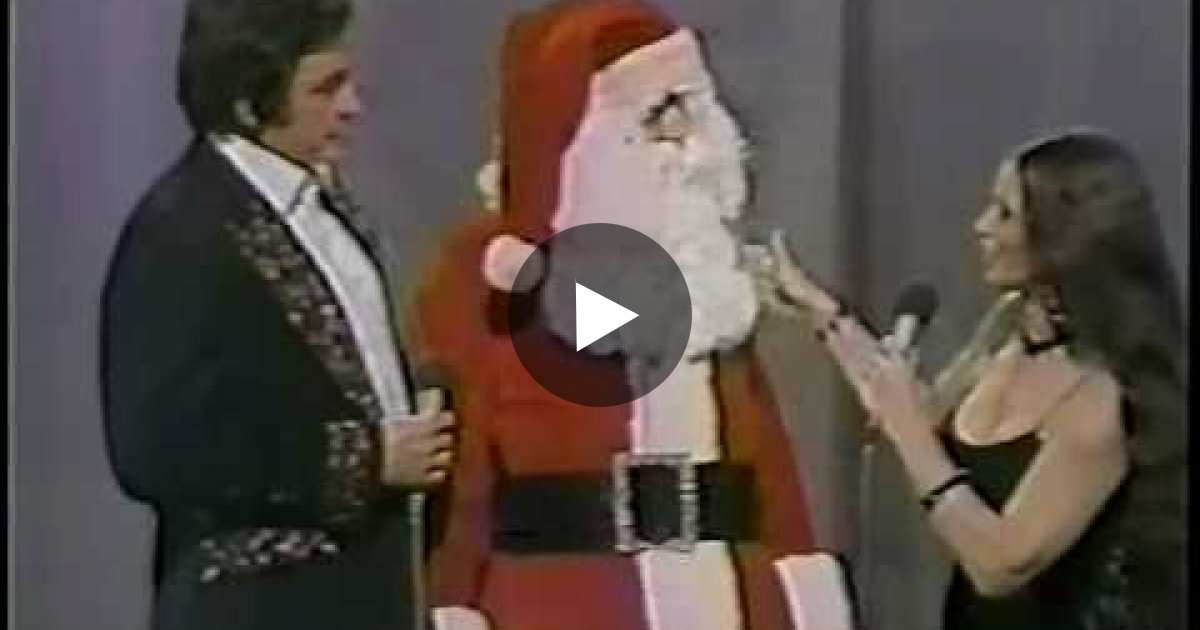 Santa Wishes Johnny Cash A Merry Christmas. But When He Takes Off ...