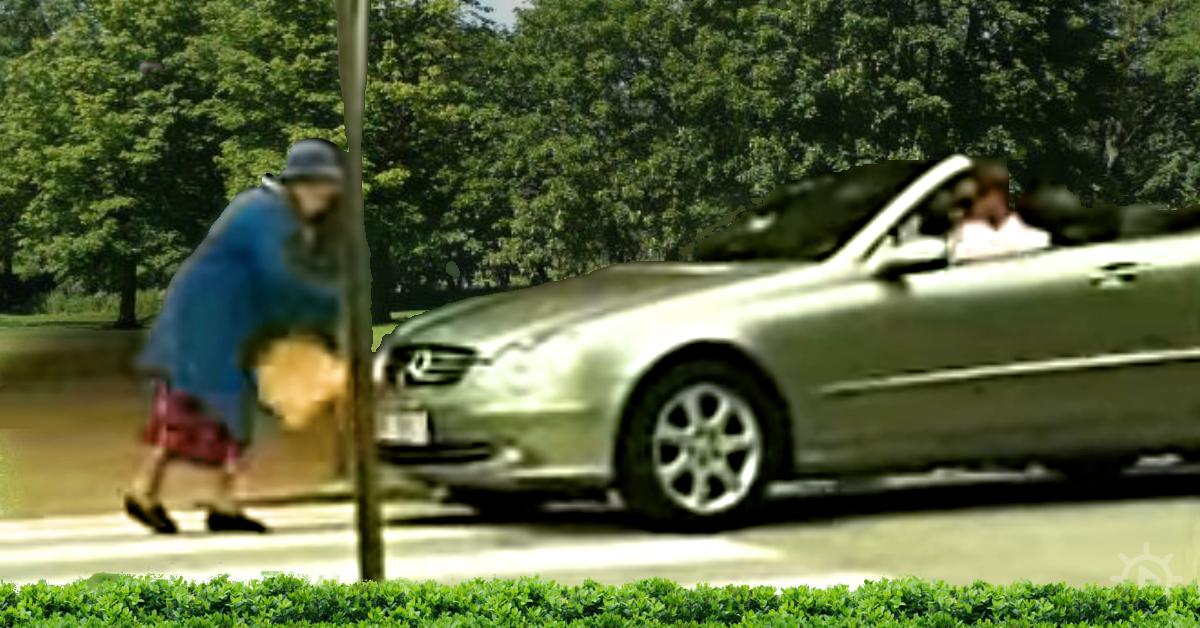 Grandma Gets Revenge Against Rude Driver