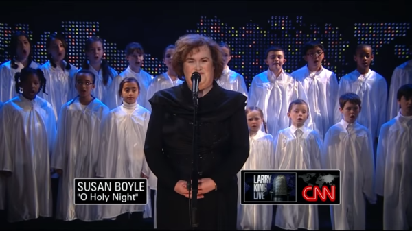 Susan Boyle Sings Christmas Music