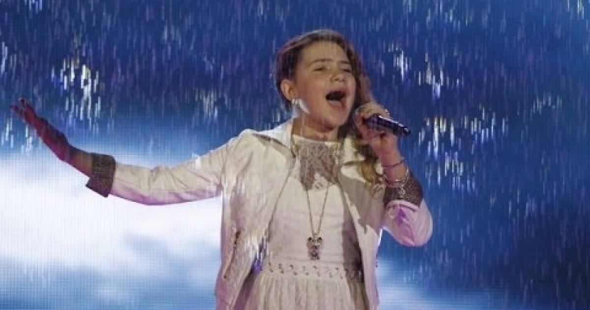 Amazing 11 Year Old Shows She Has The Talent To Sing The