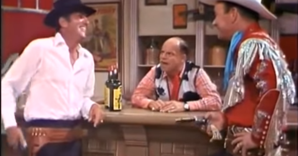 Dean Martin and Don Rickles