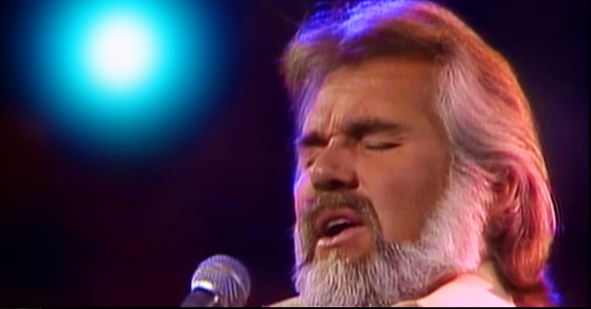 Kenny Rogers Sings 'Lady, I'm Your Knight in Shining Armor' and It Still Touches My Heart After