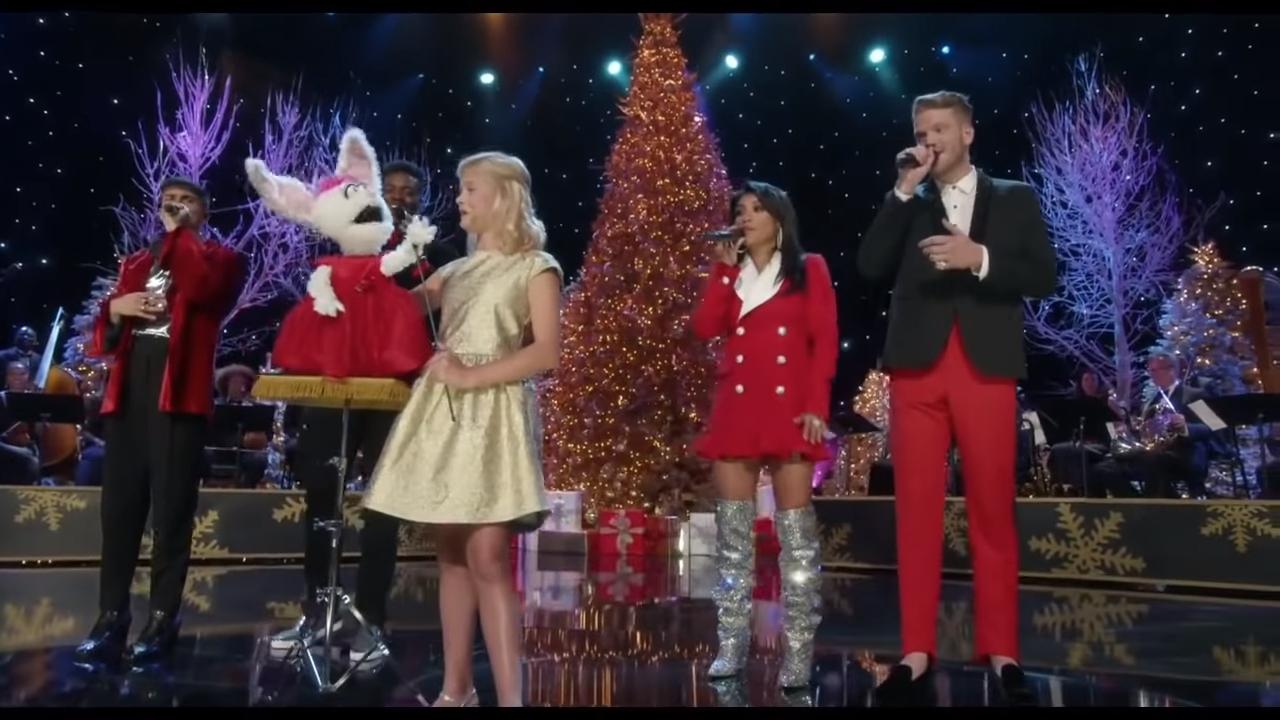A Very Pentatonix Christmas.A Very Pentatonix Christmas Darci Lynne O Easter Egg 1