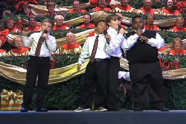 Four Boys Sing