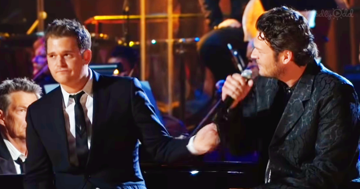 Michael Bublé Sings 'Home' with Blake Shelton