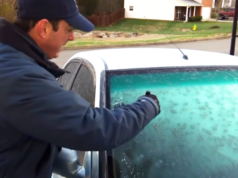 Defrost Windshield Easy