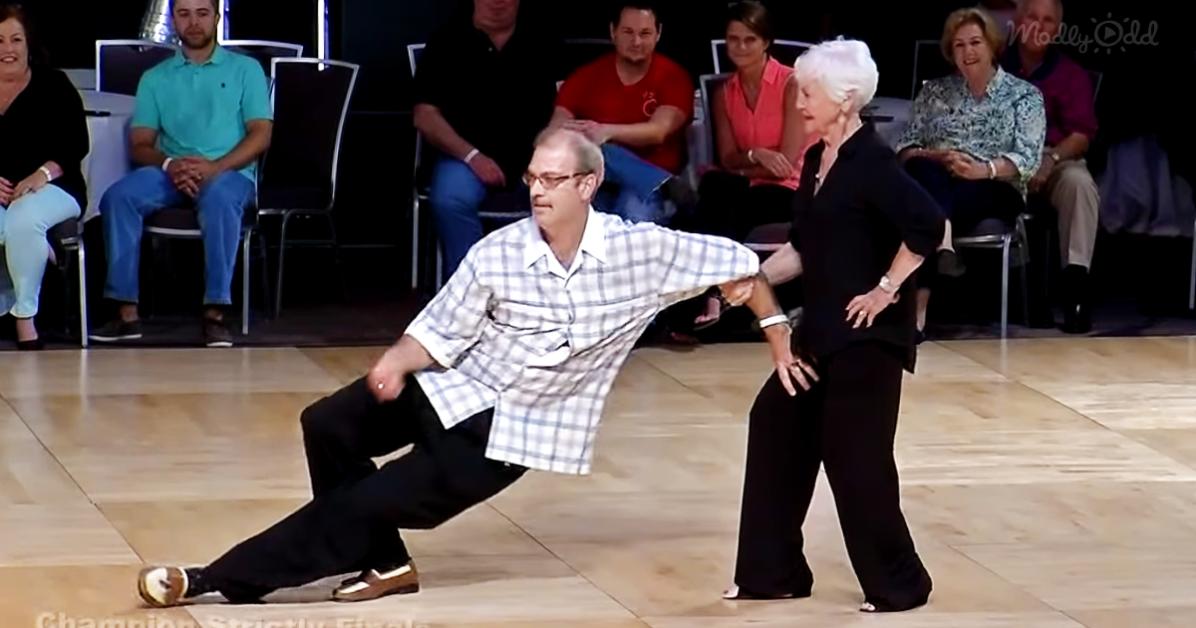 Seniors Swing Dance wins 1st place