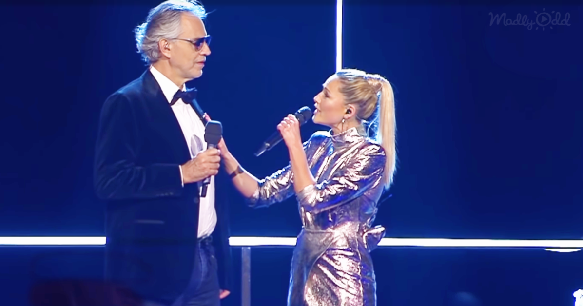 Andreas Bocelli and Helene Fischer 2019