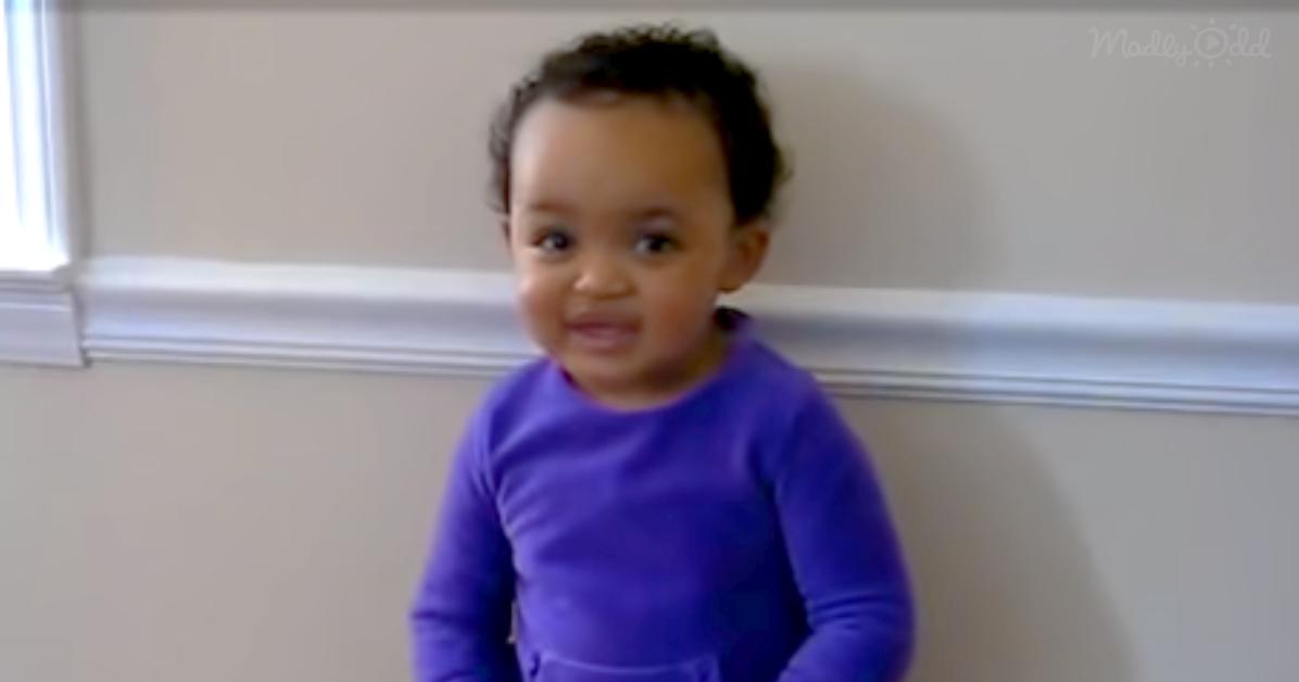 Little Girl sings Amaizing Grace