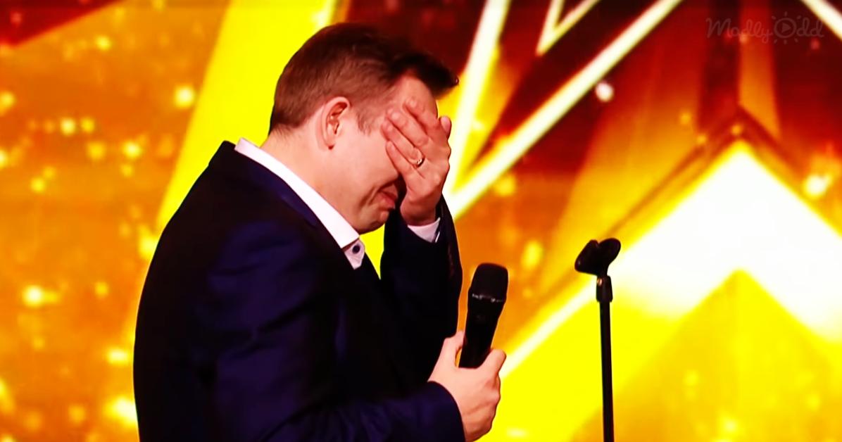 Barry Darcy's Golden Buzzer Performance on Ireland's Got Talent
