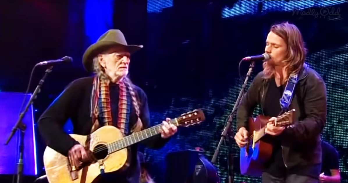 WIllie Nelson and Son Lukas