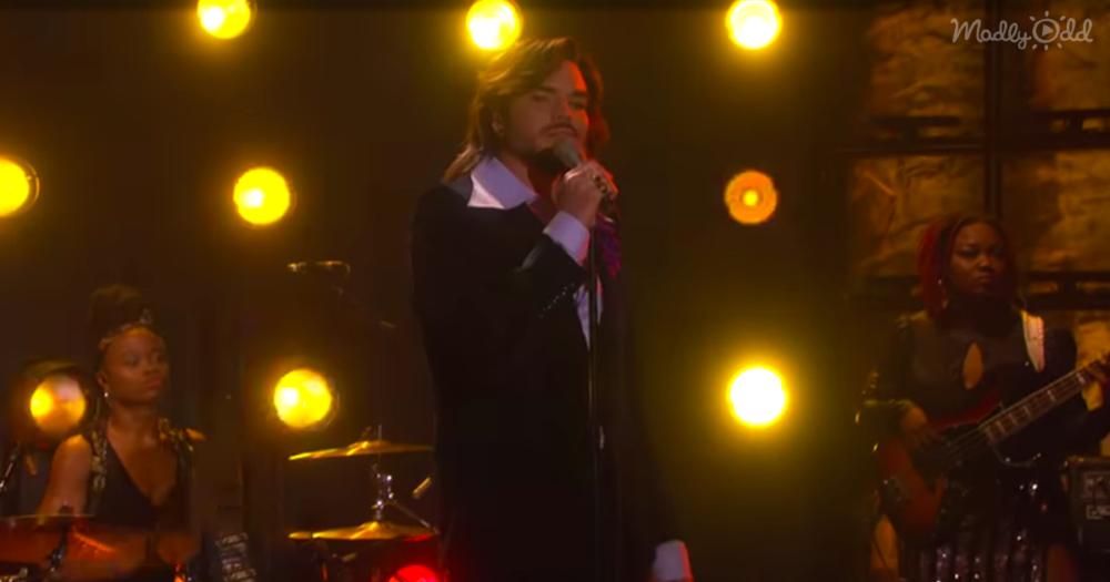 Adam Lambert Gives a Haunting OG3