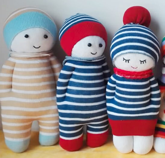 Learn How To Make The Cutest Sock Dolls 3