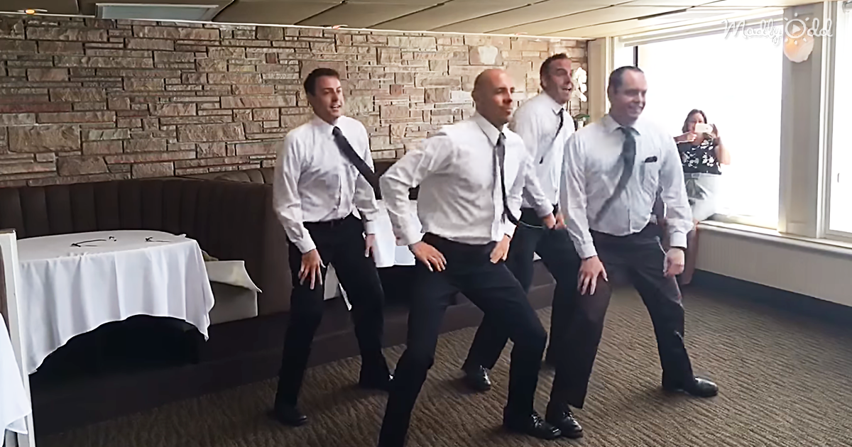 46054-OG1-Four-Brothers-Break-Into-Dance-at-Their-Sister's-Wedding