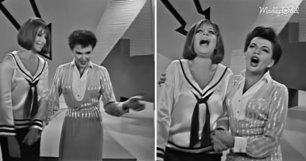 This 1963 Mashup Duet Featuring Judy Garland and Barbra Streisand Will Make You Happy