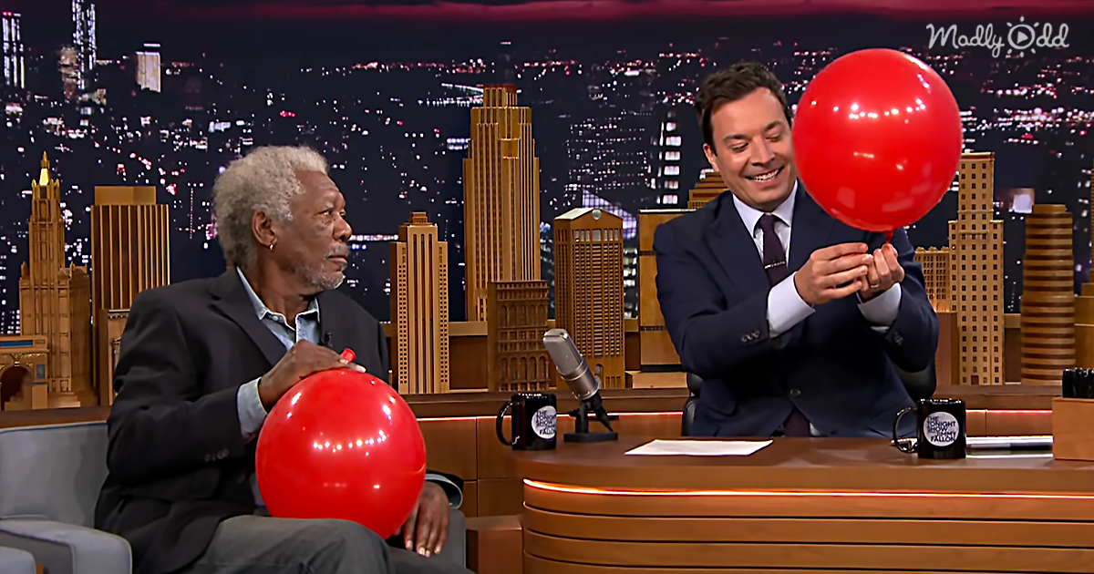 "Morgan Freeman's Epic Voice Is Made Even Better By Helium On ""Jimmy Fallon"""