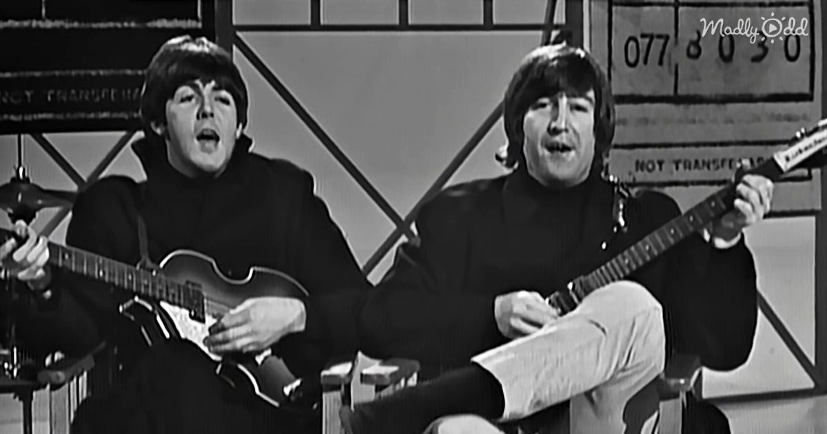 og1 The Beatles Sing Ticket To Ride and That Look John Gives Paul Is Melting Our Hearts