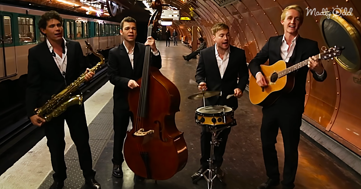 A Cover of 'Hit The Road Jack' and 'Umbrella' By The Phly Boys