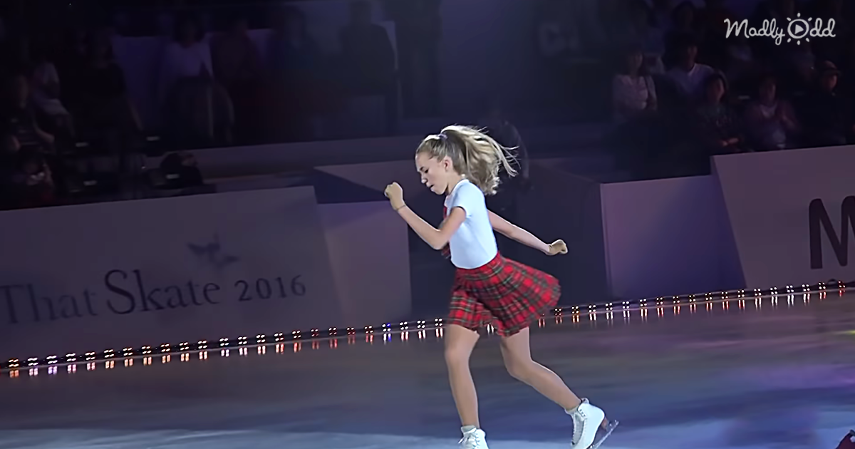 """Figure Skater Hits The Ice With All The Attitude While Dancing To """"Worth It"""""""