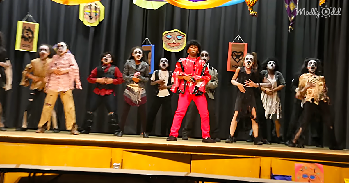 An Elementary School Tribute to Michael Jackson's 'Thriller'