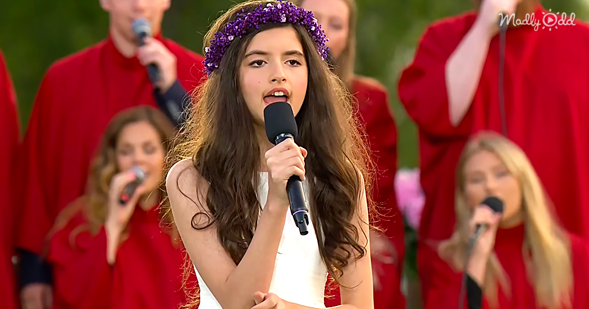A Cover of 'It's Now or Never' by Angelina Jordan