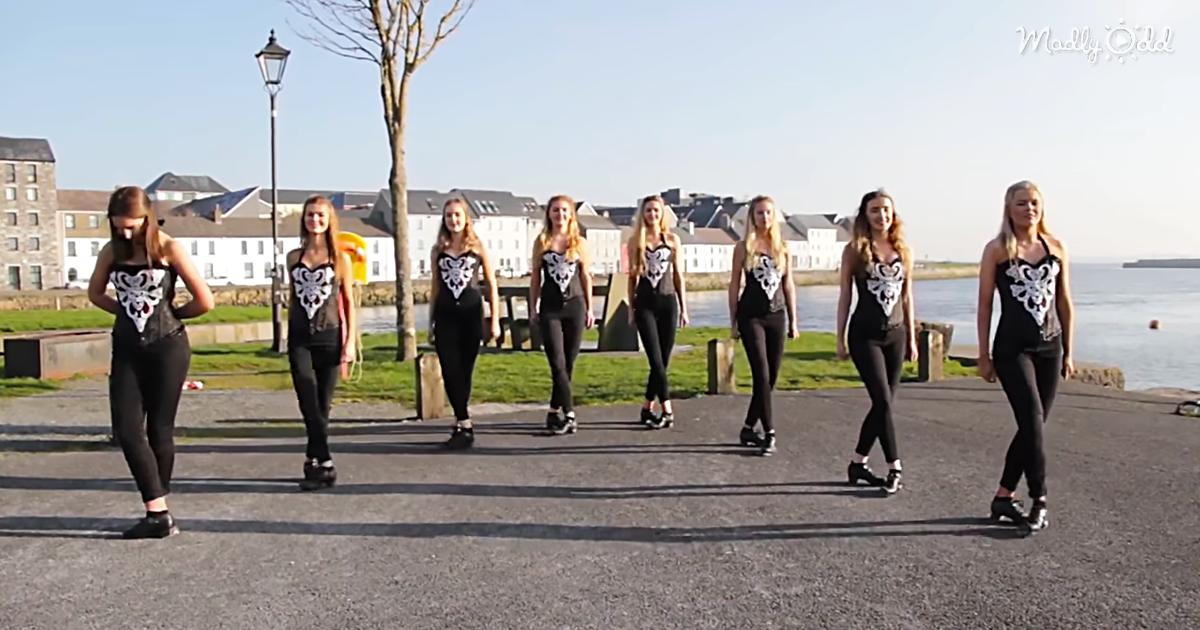 The Galway Girls Dancing to Ed Sheeran's 'Shape of You'