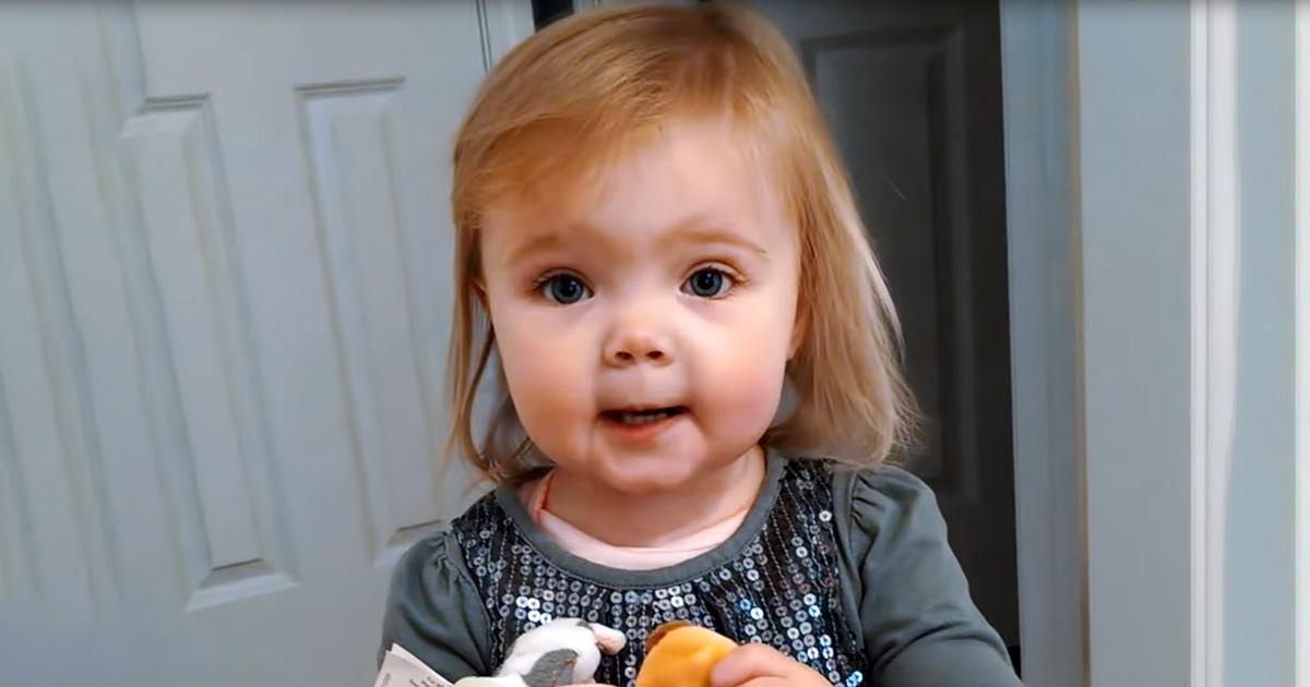 Adorable 2 Year Old Breaks Internet