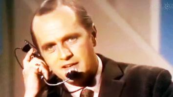 Bob Newhart as air traffic controller