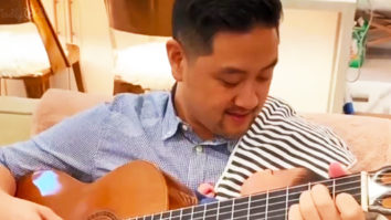 Dad serenades his baby with 'Can't Help Falling In Love'