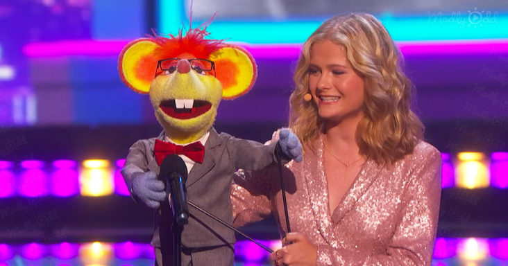 """Darci Lynne Performs """"Let The Good Times Roll"""" on AGT"""