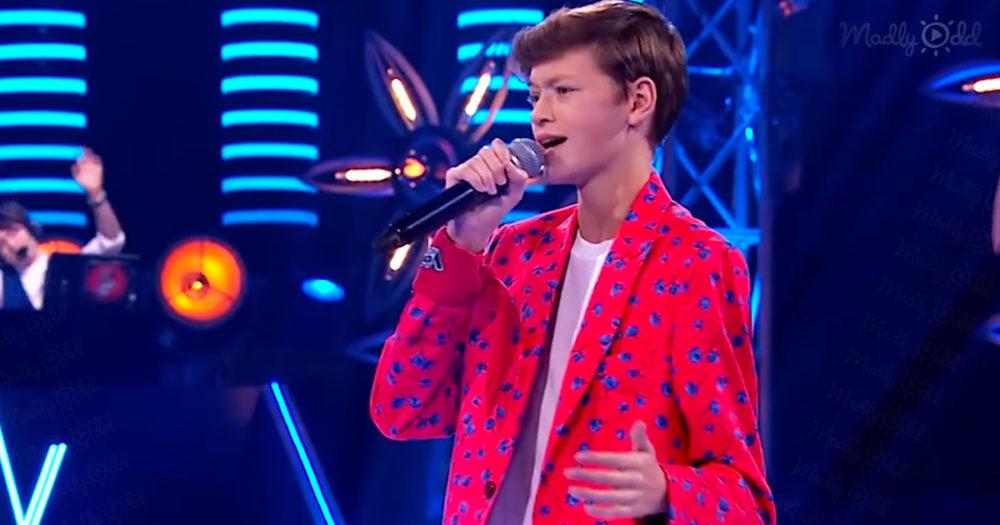 Olek Klembalski on The Voice
