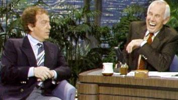 Jackie Mason and Johnny Carson