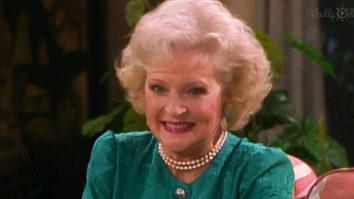 Betty White on The Golden Girls