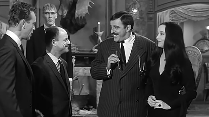 """Hilarious """"Addams Family"""" episode with Don Rickles"""