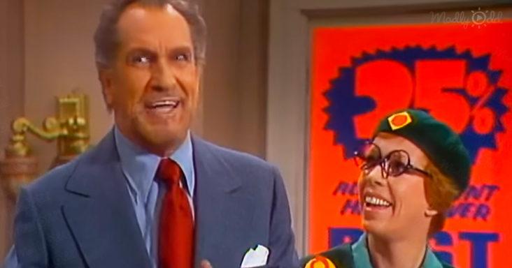 Vincent Price on The Carol Burnett Show