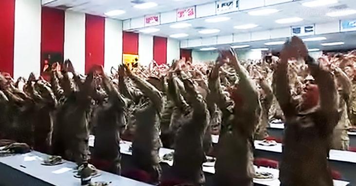 US Marines singing 'Days of Elijah'